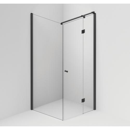 Fikseeritud sein FormPlus 90*200 cm, must profiil