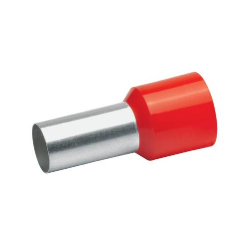 Otsahülss isoleeritud 35mm2/16mm, punane, 50tk pakis KLAUKE