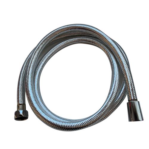 Dušivoolik Flory 2,0m PVC metallik, pöörleva otsikuga 1/2''