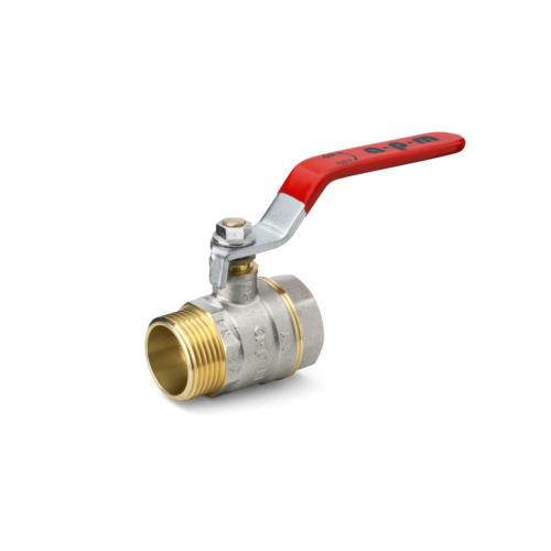 Kuulkraan 1.1/4'' SK/VK standard ava PN25 130°C