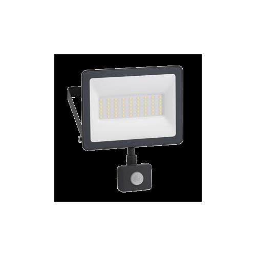 LED Prozektor Mureva 30W, 4000K, IP44, PIR-sensoriga, Schneider
