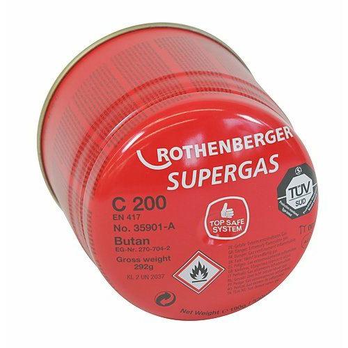 Supergas C200 Sulgklapiga