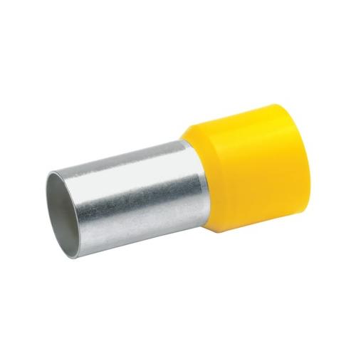 Otsahülss isoleeritud 70mm2/21mm, kollane, 50tk pakis KLAUKE