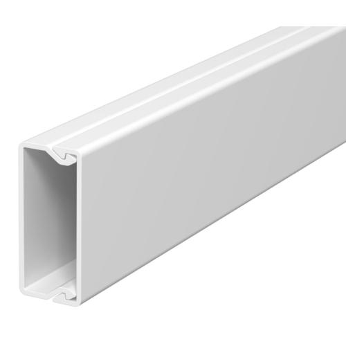 Karbik kaanega 15x40mm L=2000mm PVC polaarvalge, OBO