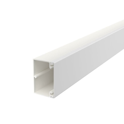 Karbik kaanega 40x60mm L=2000mm PVC polaarvalge, OBO