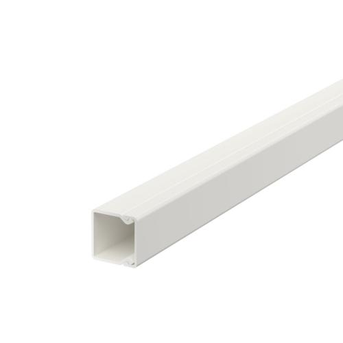 Karbik kaanega 20x20mm L=2000mm PVC polaarvalge, OBO