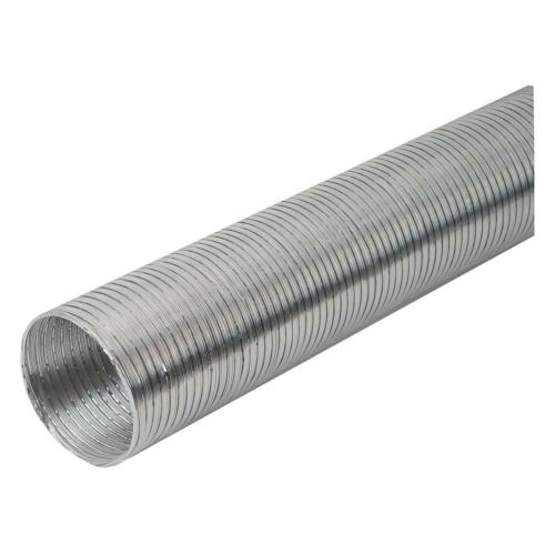 Ventilatsioonitoru alumiiniumist 100mm (kofreeritud) 3m