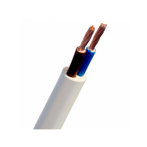 Kiuline kaabel H05VV-F 2x1, Eca, valge, 100m rullis, Telefonika