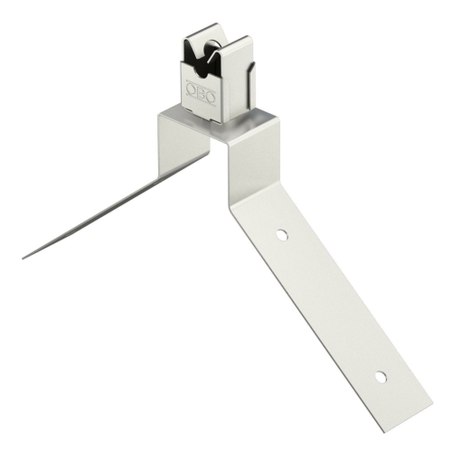 Harjaklamber, 8mm ümarjuhile, roostevaba teras, V2A, OBO
