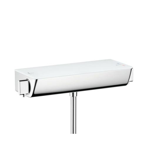 Termostaadiga dušisegisti Ecostat Select, valge/kroom