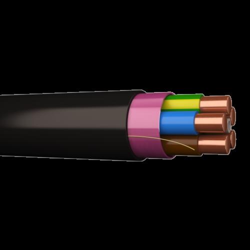 Kaabel XPK 5G10 1KV must jõukaabel trumlil
