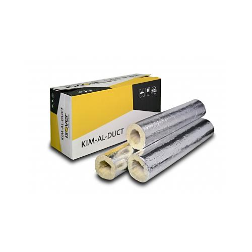 Ventilatsiooni torukoorik  125-50 1,2m/tk KIM-AL-DUCT  8tk/pk