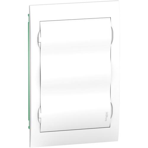 Jaotuskilp süv. 36mod. uks valge IP40 plast