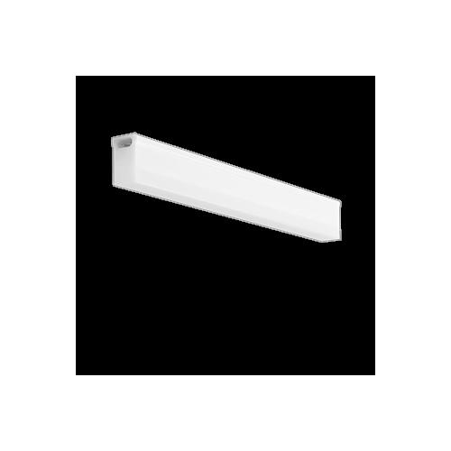 Led valgusti Regleta 15W, 1350lm, 3000K, 880x33mm, IP20, lüliti ja toitekaablita, Troll