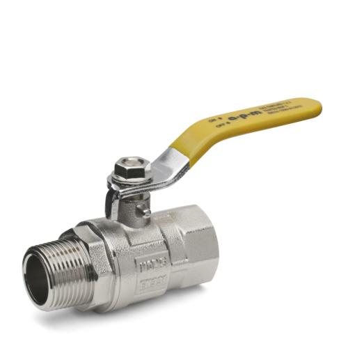 "Gaasikuulkraan 1/2"" SK/VK täisava 120°C PN40"