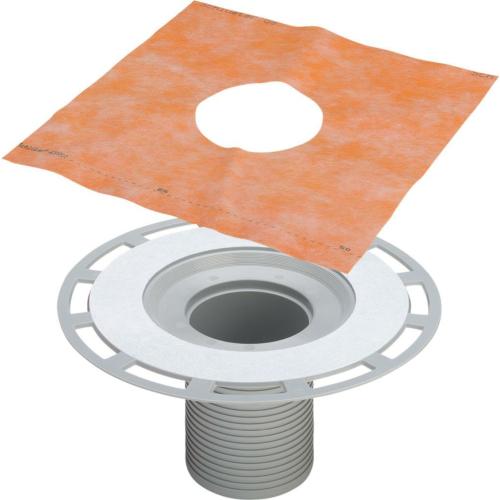 Viega Advantix trapi kõrgendus/hüdroisolatsioonikinnitusäärikuga hüdro.kangale H=130mm