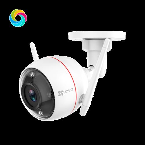 Valvekaamera C3W Color Night Vision, 24/7 värviline pilt, wifi rakendus, kahepoolne audio, Ezviz
