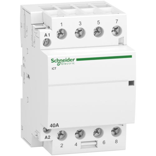 Kontaktor iCT 40A 4NO 230/240VAC Acti 9