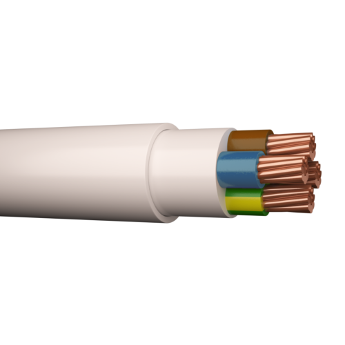 Halogeenivaba kaabel AFUX-HF C-Pro 1kV Cca 5G16 valge 250m trumlil, Draka