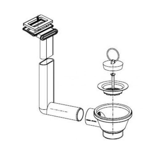Lisapakend, ventiil + kinnitused ja tihend