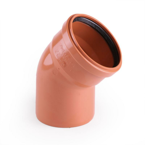 PVC NAL poogen 160-45° Pipelife