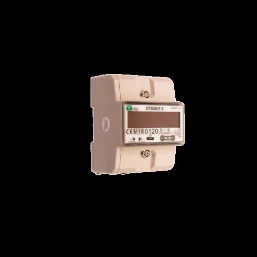 Elektriarvesti DIN03165A, 3 faasiline, 1 tariif, taatluseta, DIN-liistule, 5-65A, DINmetering