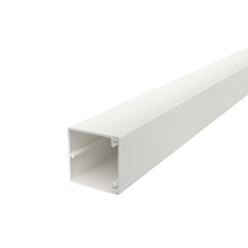 Karbik kaanega 60x60mm L=2000mm PVC polaarvalge, OBO