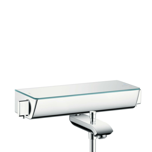 Termostaadiga vannisegisti Ecostat Select, valge kroom