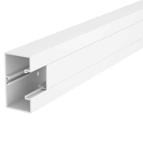 Seadmekarbik Rapid 45-2, 53x100x2000, PVC, 1 osaline, polaarvalge, OBO GK-53100RW
