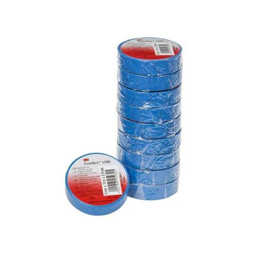 Isolatsiooniteip 15mmx10m sinine PVC 3M
