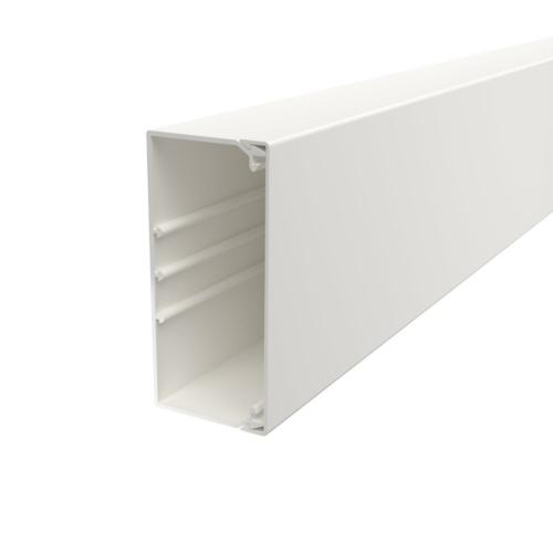 Karbik kaanega 60x130mm L=2000mm PVC polaarvalge, OBO