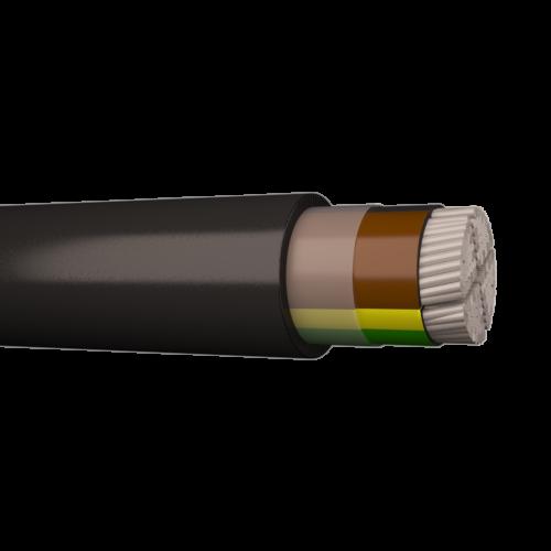 Jõukaabel AXPK 4G120, 1kV, Eca, must, 1000m trumlil, Draka
