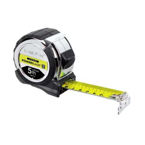 Mõõdulint 8m/27mm, magnet PowerBlade 2, HI-VIZ