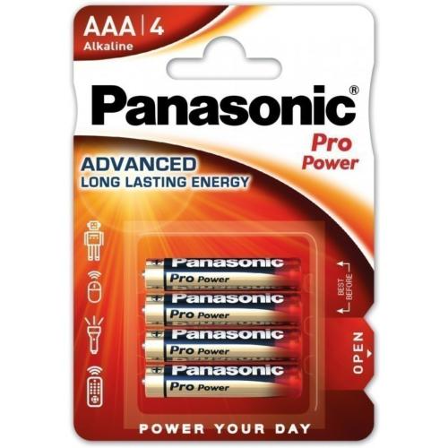 Patarei AAA, 4tk, Panasonic PRO