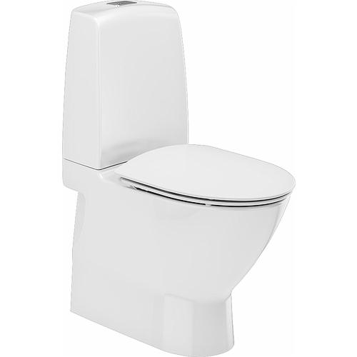 WC Inspira Art rimfree allavool, valge