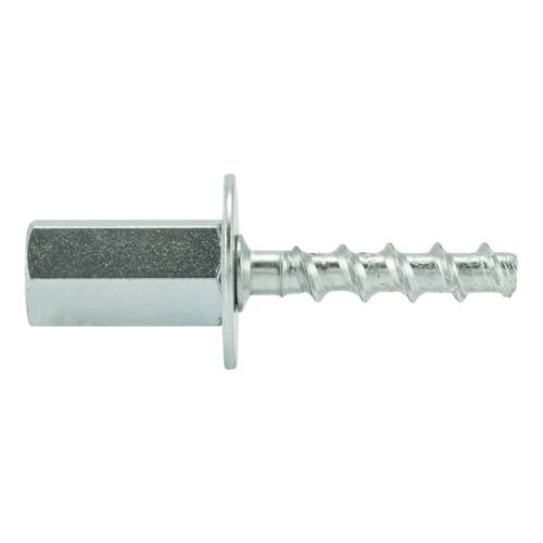 Betoonikr.6(7,5)x55 M8/10 jätkumutriga ZN 50tk/karp