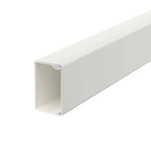 Karbik kaanega 25x40mm L=2000mm PVC polaarvalge, OBO