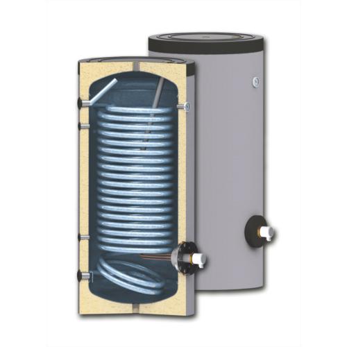 Boiler soojusvahetiga 200 200 l /1,9m², isoleeritud