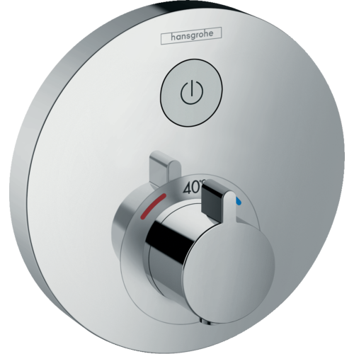 Termostaadiga dušisegisti Select S, kroom