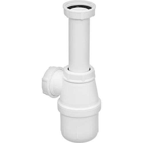 Valamu pudelsifoon 1½ plast, valge