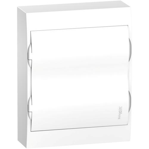 Jaotuskilp pinnapealne 24 moodulit, uks valge IP40 plast