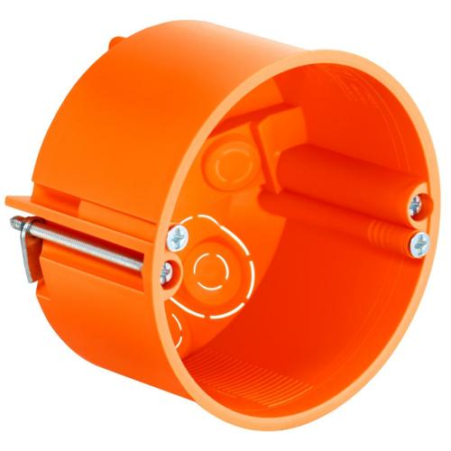 Seadmetoos Ø74 h=50mm, kipsseinale, PERIFLEX pliidipesale, oranž, Kaiser