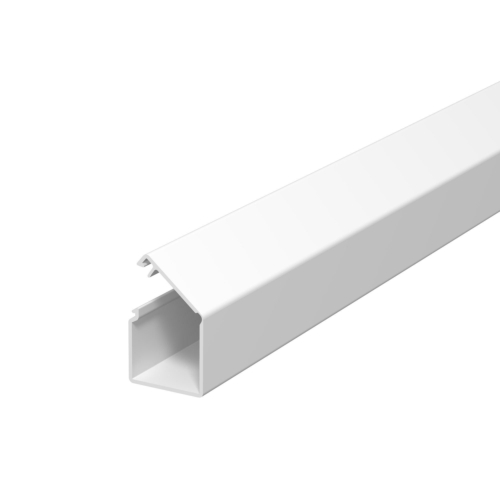 Karbik kleebitav, 17x17mm L=2000mm PVC polaarvalge, OBO