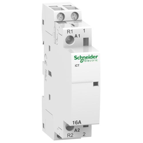 Kontaktor iCT 25A 1NO 1NC, 230/240VAC, Schneider Acti 9