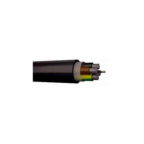 Jõukaabel ARLC-PLUS 4G25+2,5mm2 signaaljuhe, 1kV, Eca, must, 1000m trumlil, Draka