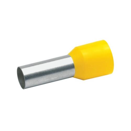 Otsahülss isoleeritud 25mm2/16mm, kollane, 50tk pakis KLAUKE