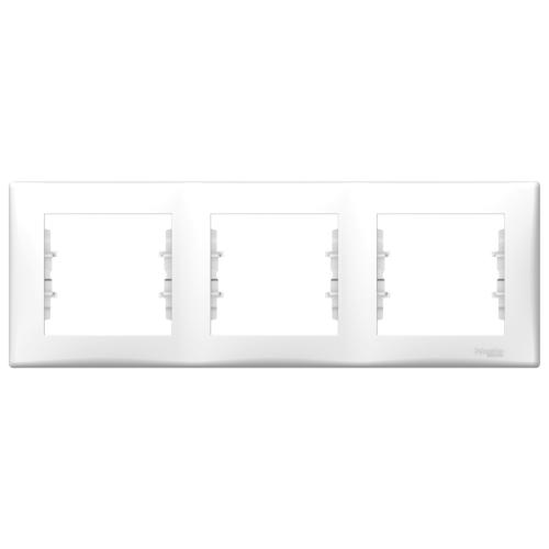 3-ne raam valge horisontaalne Sedna