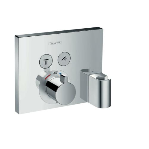 Termostaatpaneel Shower Select hoidikuga, kroom