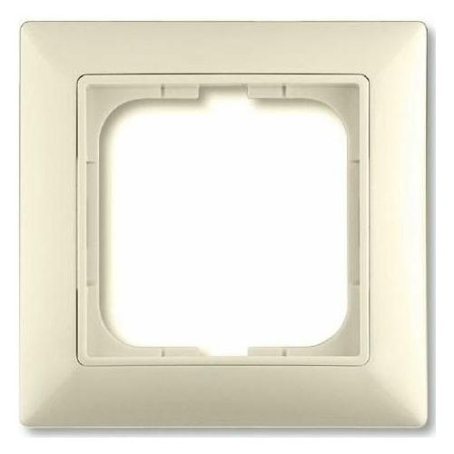 1-ne raam, valge (beež) dekoratiivraamiga Basic55
