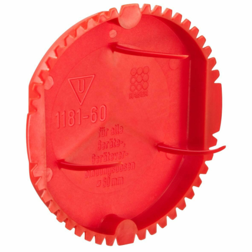 Krohvitoosi signaalkate 60mm toosile, punane, Kaiser